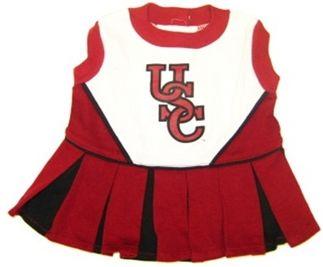 DoggieNation-College - South Carolina Gamecocks Cheerleader Dog Dress - Medium