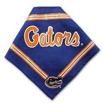 DoggieNation-College - Florida Gators Dog Bandana - Blue - Small