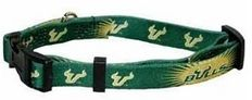 DoggieNation-College - University of South Florida Dog Collar - Small