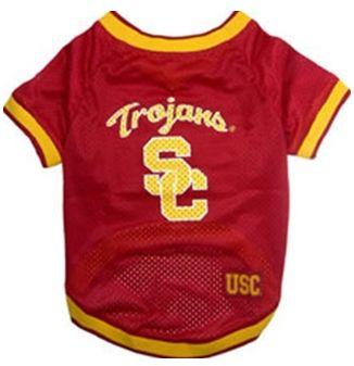 DoggieNation-College - USC Trojans Dog Jersey - Large