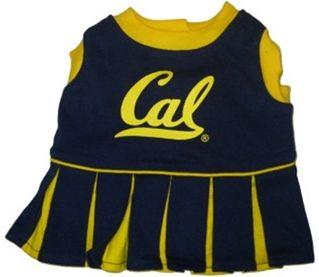 DoggieNation-College - California Berkeley Cheerleader Dog Dress - XtraSmall