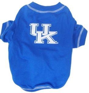 DoggieNation-College - Kentucky Wildcats Dog Tee Shirt - XtraSmall