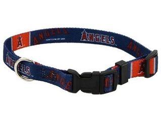 DoggieNation-MLB - Los Angeles Angels Dog Collar - Large
