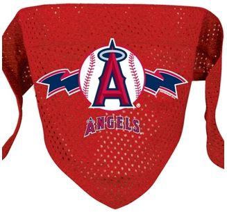 DoggieNation-MLB - Los Angeles Angels Mesh Dog Bandana - Large