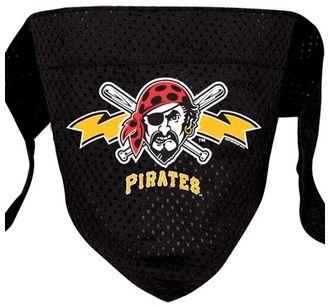 DoggieNation-MLB - Pittsburgh Pirates Mesh Dog Bandana - Small