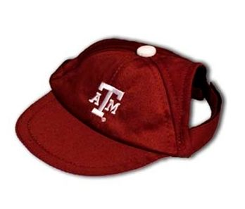 DoggieNation-College - Texas A&M Dog Cap - Large