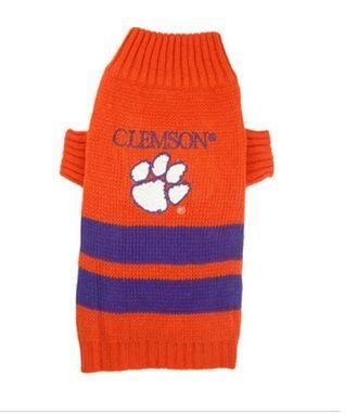 DoggieNation-College - Clemson Dog Sweater - Large