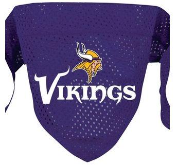 DoggieNation-NFL - Minnesota Vikings Dog Bandana - Large