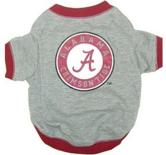 DoggieNation-MLB - Alabama Dog Tee Shirt - Small