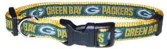 DoggieNation-NFL - Green Bay Packers Dog Collar - Alternate - Medium