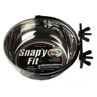 Midwest Container - Snap'y Fit Stainless Steel Dog Bowl - 20 oz