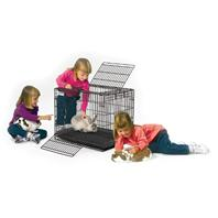 Midwest Container - Wabbitat Rabbit Cage - 25 X 19 X 20 Inch