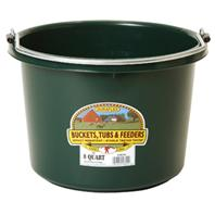 Miller Mfg - Plastic Bucket - Green - 8 Quart
