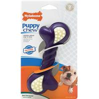 Nylabone - Puppy Double Action Chew - Purple - Large