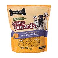 Three Dog Bakery - Roll-Over Rewards Tiny Treats For Dogs - Cheese - 32 oz