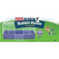 Super Pet - Kaytee Rabbit Home - 42x18x19.5 Inch