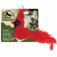 Our Pets - Realbirds Play-N-Squeak - Fly Over - Red