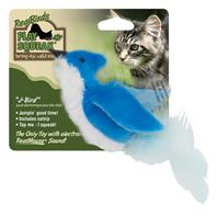 Our Pets - Realbirds Play-N-Squeak - J-Bird - Blue/White
