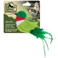 Our Pets - Realbirds Play-N-Squeak - Buzz Off - Green