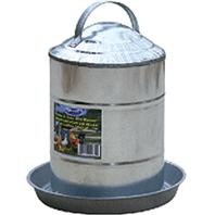 Millside Industries - Galvanized Poultry Fountain - 2 Gallon