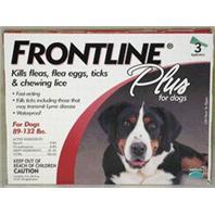 F.C.E. Inc - Frontline Plus Dog - 88-132 Lb - 3Pack