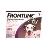 F.C.E. Inc - Frontline Plus Dog - 45-88 Lb