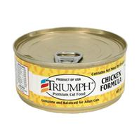 Triumph Pet - Canned Cat Food - Chicken - 5.5 oz