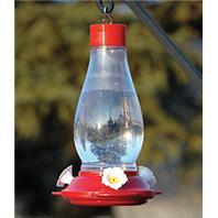 Audubon/Woodlink - Plastic Hummingbird Feeder - Red - 24 oz