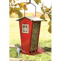 Audubon/Woodlink - Snack Shack Squirrel Resistant Feeder - Red
