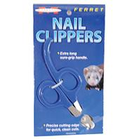 Marshall Pet - Ferret Nail Clippers - Blue