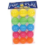 Marshall Pet - Pop-N-Play Ball Pack - Assorted