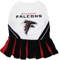DoggieNation-NFL - Atlanta Falcons Cheerleader Dog Dress - X Small