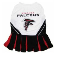 DoggieNation-NFL - Atlanta Falcons Cheerleader Dog Dress - Medium
