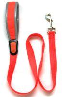 Iconic Pet - Reflective Nylon Leash - Orange - 0.59 x 47.2 Inch