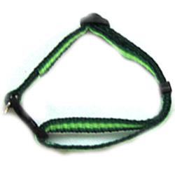 Iconic Pet - Rainbow Adjustable Collar - Green - 0.59 x 13/15.7 Inch