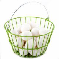 Ware Mfg - Egg Basket - Green