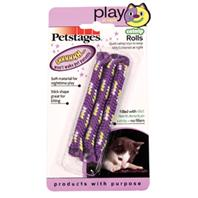 Petstages - Play At Night Catnip Rolls - Purple - 3 Pack