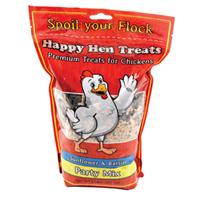 Durvet - Happy Hen - Party Mix Chicken Treat - Sunflower/Raisn - 2 Lb