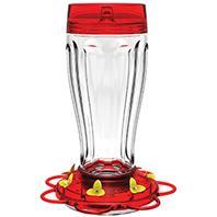 Classic Brands - Big Gulp Hummingbird Feeder - Red - 40 Oz Capacity