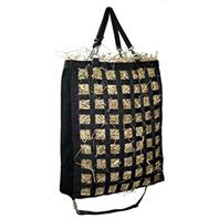Gatsby Leather - Slow Feed Hay Bag - Black - 20 X27 X6.5