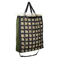 Gatsby Leather - Slow Feed Hay Bag - Hunter Green - 20 X27 X6.5