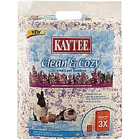Kaytee Products - Clean And Cozy Small Pet Bedding - Lavendar - 1000 Cubic Inch