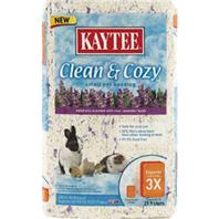 Kaytee Products - Clean And Cozy Small Pet Bedding - Lavendar - 500 Cubic Inch