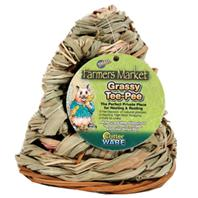 Ware Mfg - Farmers Market Small Animal Grassy Tee Pee - Natural - Small