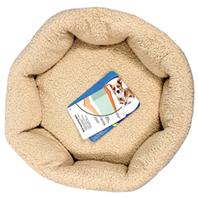 Doskocil-Petmate Beds - Self Warming Cat Bed - Spice/Creme - 19 Inch