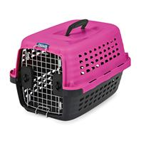 Doskocil - Compass Kennel - Hot Pink/Black - 19 Inch
