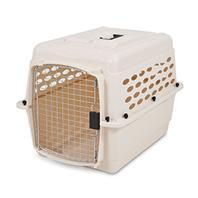 Doskocil - Vari Kennel Pet Carrier - Bleached Linen - 10-20 Lb
