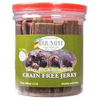 Triumph Pet - Grain Free Jerky Treats - Turkey/Pea/Berry - 24 oz