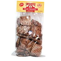 Smokehouse Dog Treats - Usa Made Beef Munchies - Beef - 1 Lb / Large