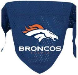 DoggieNation-NFL - Denver Broncos Dog Bandana - Large